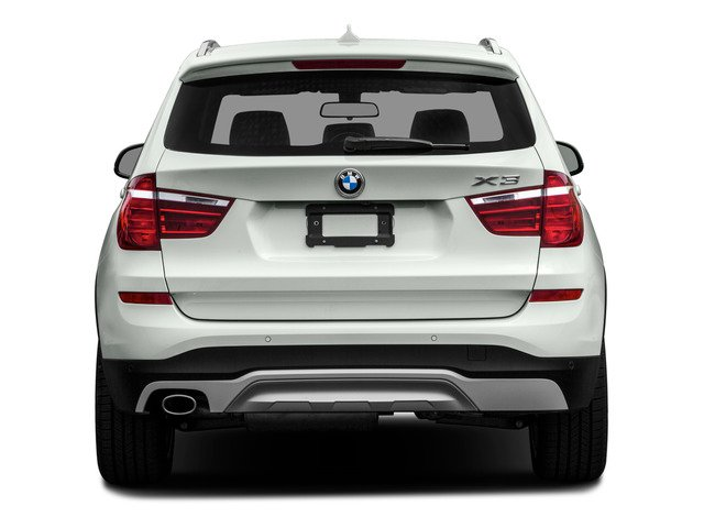2016 BMW X3 Prices and Values Utility 4D 28i 2WD I4 Turbo rear view