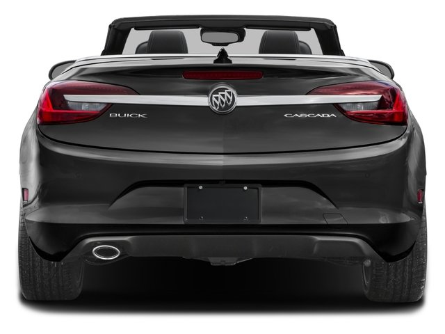 2016 Buick Cascada Prices and Values Convertible 2D Premium I4 Turbo rear view