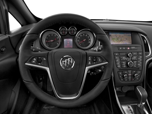 2016 Buick Cascada Prices and Values Convertible 2D Premium I4 Turbo driver's dashboard
