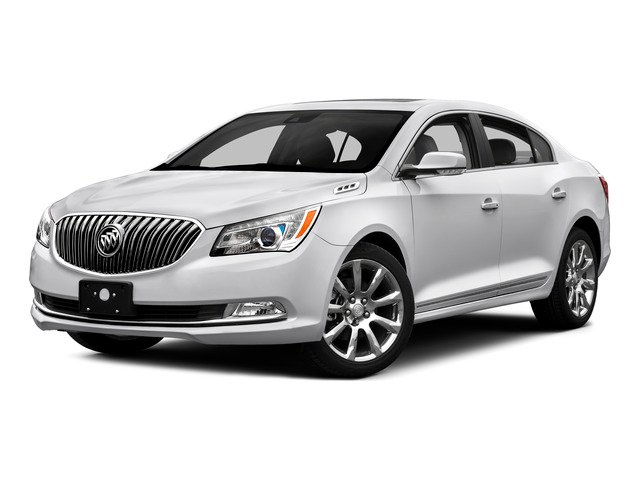 2016 Buick LaCrosse Prices and Values Sedan 4D 1SV V6 side front view