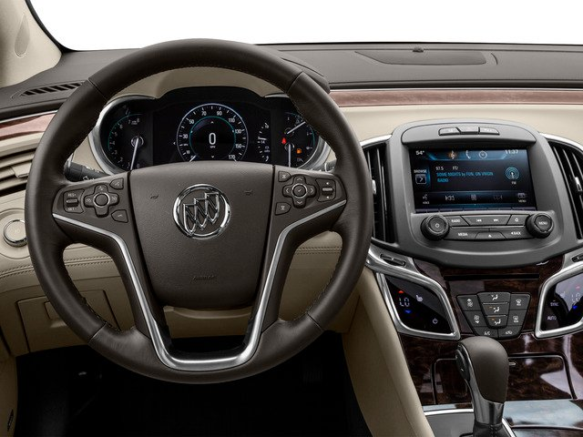 2016 Buick LaCrosse Prices and Values Sedan 4D 1SV V6 driver's dashboard