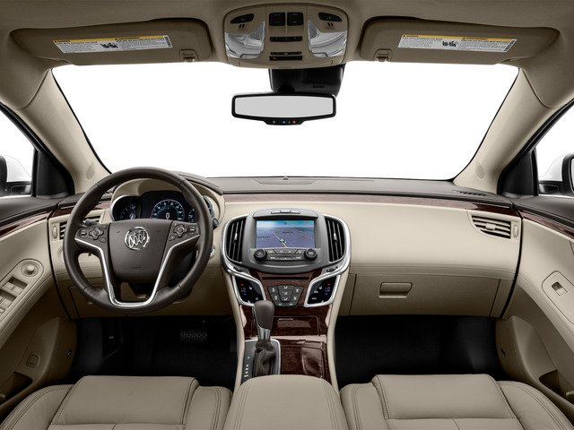2016 Buick LaCrosse Prices and Values Sedan 4D 1SV V6 full dashboard
