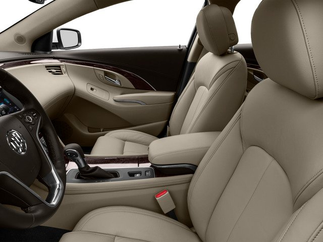 2016 Buick LaCrosse Prices and Values Sedan 4D 1SV V6 front seat interior