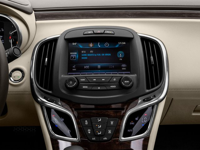 2016 Buick LaCrosse Prices and Values Sedan 4D 1SV V6 stereo system