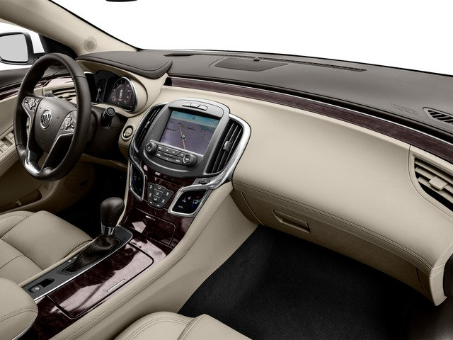 2016 Buick LaCrosse Prices and Values Sedan 4D 1SV V6 passenger's dashboard