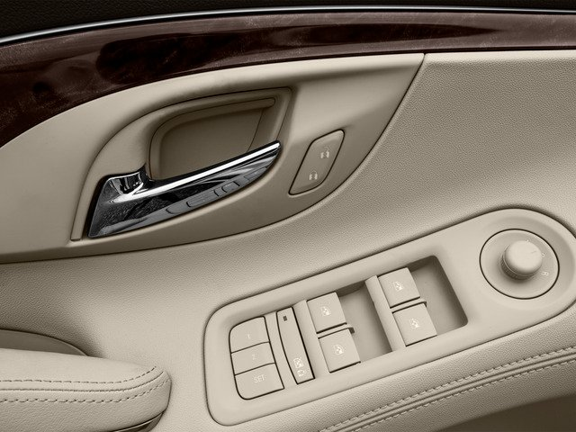 2016 Buick LaCrosse Prices and Values Sedan 4D 1SV V6 driver's side interior controls