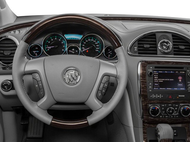 2016 Buick Enclave Prices and Values Utility 4D Premium AWD V6 driver's dashboard