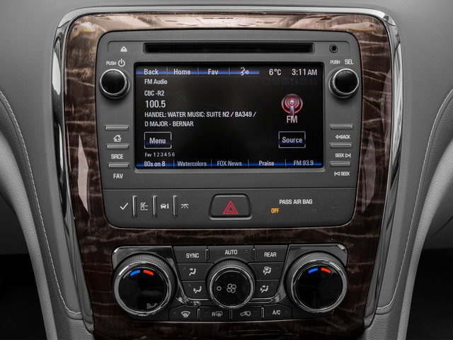 2016 Buick Enclave Prices and Values Utility 4D Premium AWD V6 stereo system