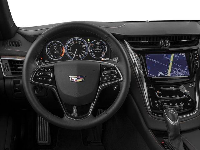 2016 Cadillac CTS Sedan Pictures CTS Sedan 4D Luxury I4 Turbo photos driver's dashboard