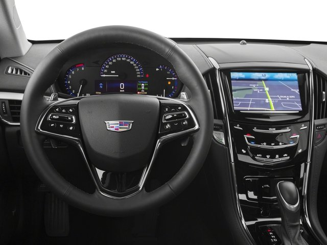 2016 Cadillac ATS Coupe Prices and Values Coupe 2D Performance I4 Turbo driver's dashboard