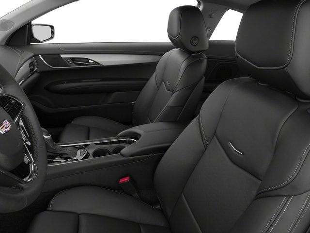 2016 Cadillac ATS Coupe Prices and Values Coupe 2D Performance I4 Turbo front seat interior
