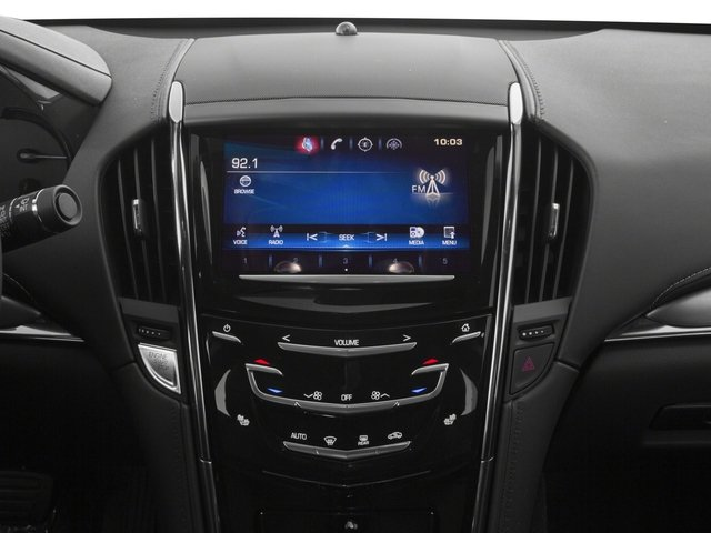 2016 Cadillac ATS Coupe Prices and Values Coupe 2D Performance I4 Turbo stereo system