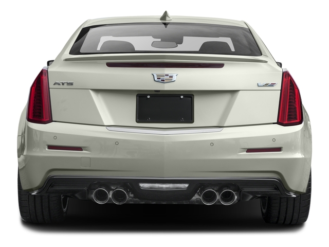 2016 Cadillac ATS-V Coupe Prices and Values Coupe 2D V-Series V6 Turbo rear view