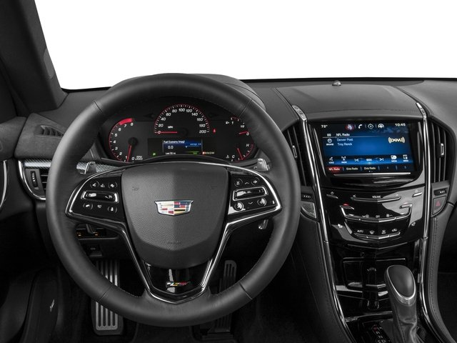 2016 Cadillac ATS-V Coupe Prices and Values Coupe 2D V-Series V6 Turbo driver's dashboard