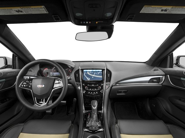 2016 Cadillac ATS-V Coupe Prices and Values Coupe 2D V-Series V6 Turbo full dashboard