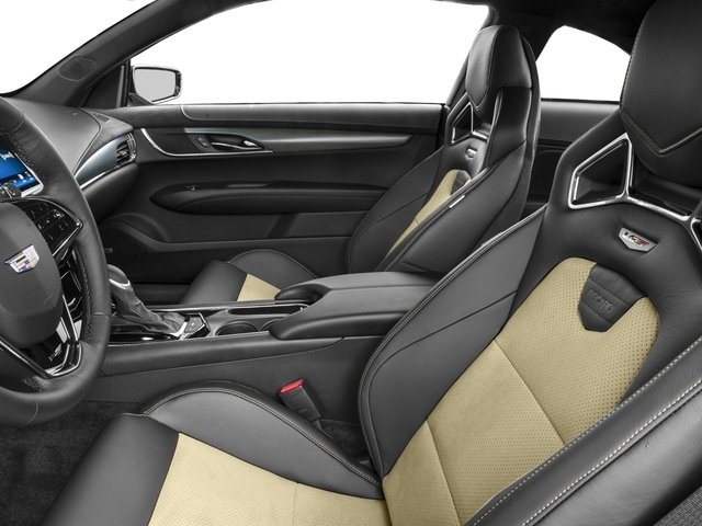 2016 Cadillac ATS-V Coupe Prices and Values Coupe 2D V-Series V6 Turbo front seat interior