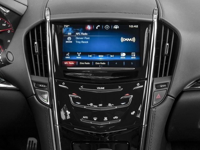 2016 Cadillac ATS-V Coupe Prices and Values Coupe 2D V-Series V6 Turbo stereo system