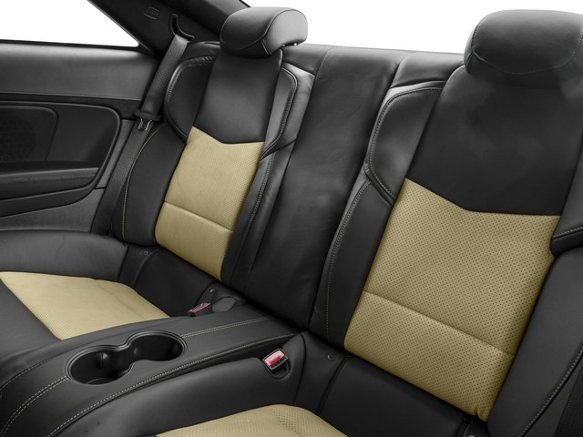 2016 Cadillac ATS-V Coupe Prices and Values Coupe 2D V-Series V6 Turbo backseat interior