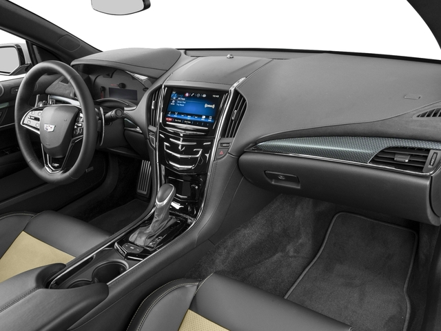 2016 Cadillac ATS-V Coupe Prices and Values Coupe 2D V-Series V6 Turbo passenger's dashboard