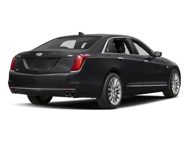2016 Cadillac CT6 Pictures CT6 Sedan 4D Luxury 3.0TT AWD V6 Turbo photos side rear view