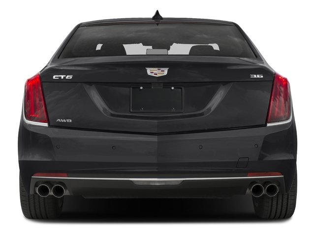 2016 Cadillac CT6 Pictures CT6 Sedan 4D Luxury 3.0TT AWD V6 Turbo photos rear view