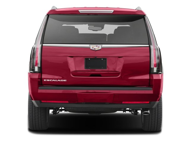 2016 Cadillac Escalade Prices and Values Utility 4D Platinum 2WD V8 rear view