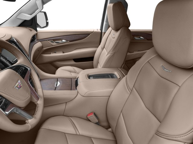 2016 Cadillac Escalade Prices and Values Utility 4D Platinum 2WD V8 front seat interior