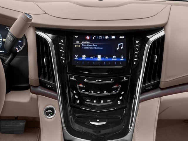2016 Cadillac Escalade Prices and Values Utility 4D Platinum 2WD V8 stereo system