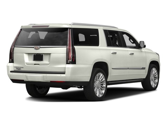 2016 Cadillac Escalade ESV Prices and Values Utility 4D ESV Platinum 4WD V8 side rear view