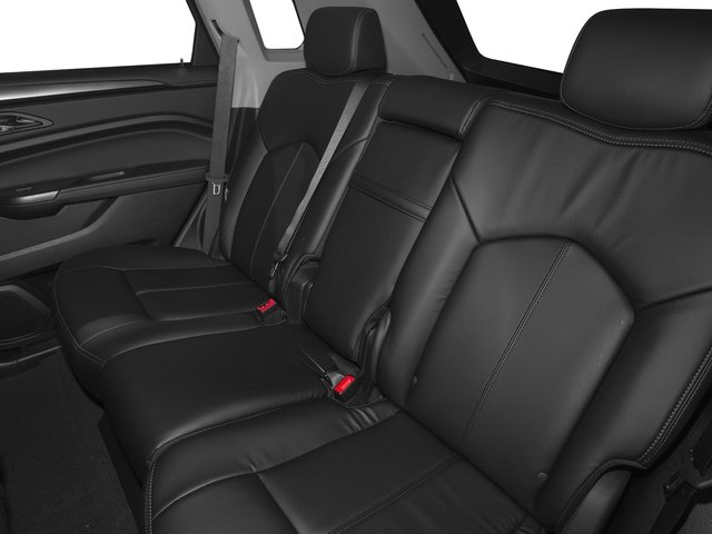2016 Cadillac SRX Prices and Values Utility 4D Luxury 2WD V6 backseat interior