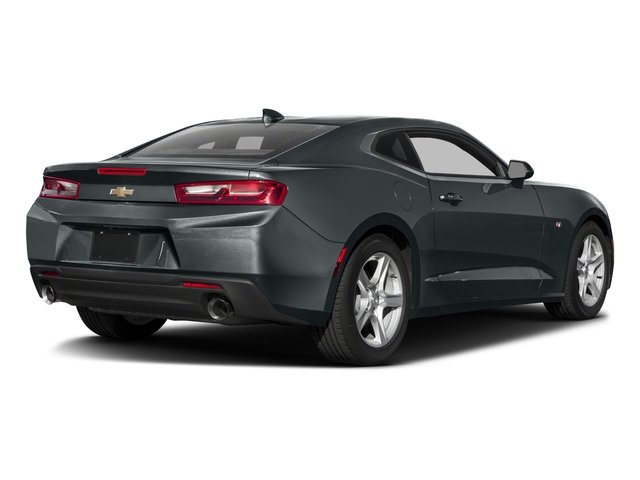 2016 Chevrolet Camaro Pictures Camaro Coupe 2D 2LT V6 photos side rear view