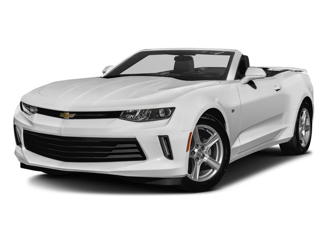 2016 Chevrolet Camaro Pictures Camaro Convertible 2D 2LT V6 photos side front view