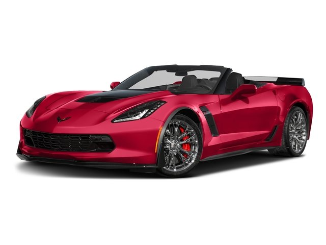 2016 Chevrolet Corvette Prices and Values Convertible 2D Z06 CR.7 V8 side front view