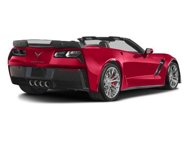 2016 Chevrolet Corvette Prices and Values Convertible 2D Z06 CR.7 V8 side rear view