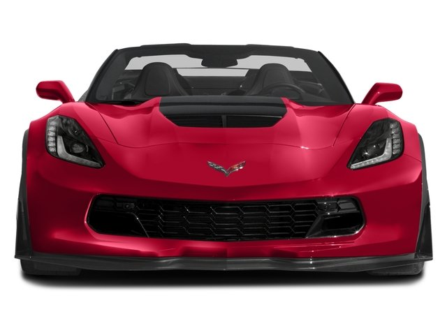 2016 Chevrolet Corvette Prices and Values Convertible 2D Z06 CR.7 V8 front view