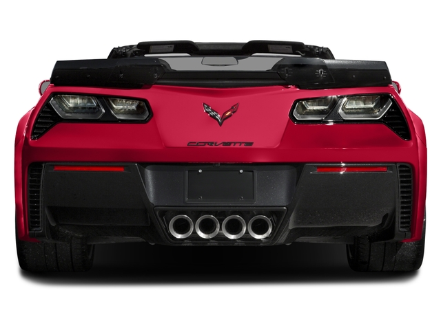 2016 Chevrolet Corvette Prices and Values Convertible 2D Z06 CR.7 V8 rear view