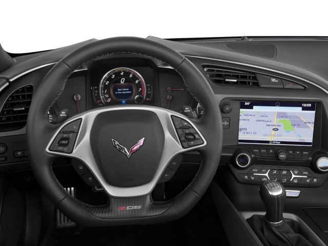 2016 Chevrolet Corvette Prices and Values Convertible 2D Z06 CR.7 V8 driver's dashboard