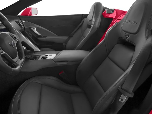 2016 Chevrolet Corvette Prices and Values Convertible 2D Z06 CR.7 V8 front seat interior