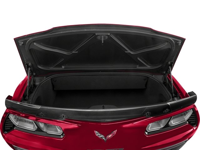 2016 Chevrolet Corvette Prices and Values Convertible 2D Z06 CR.7 V8 open trunk