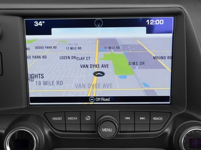 2016 Chevrolet Corvette Prices and Values Convertible 2D Z06 CR.7 V8 navigation system