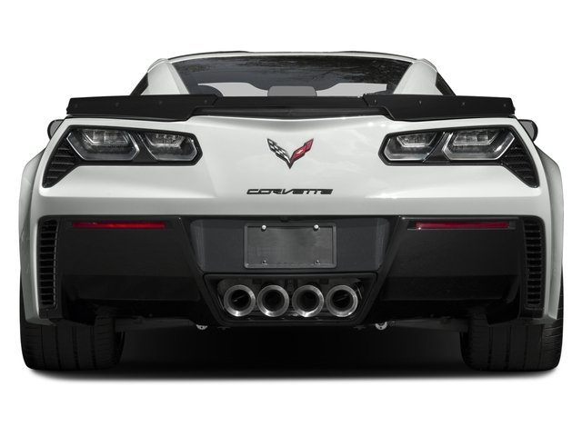 2016 Chevrolet Corvette Prices and Values Coupe 2D Z06 CR.7 V8 rear view