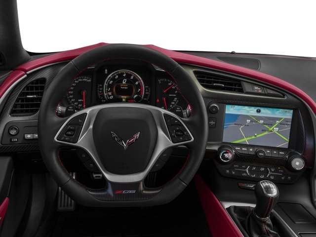 2016 Chevrolet Corvette Prices and Values Coupe 2D Z06 CR.7 V8 driver's dashboard