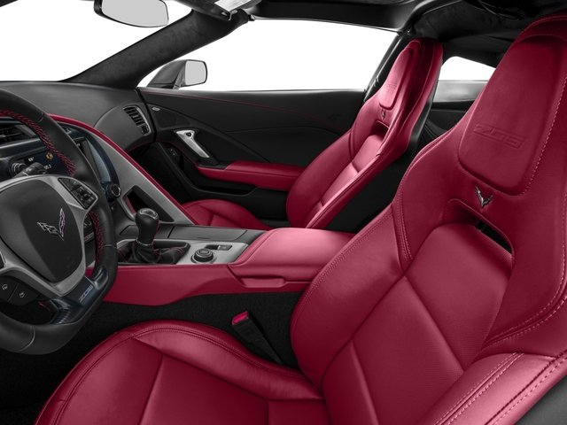 2016 Chevrolet Corvette Prices and Values Coupe 2D Z06 CR.7 V8 front seat interior