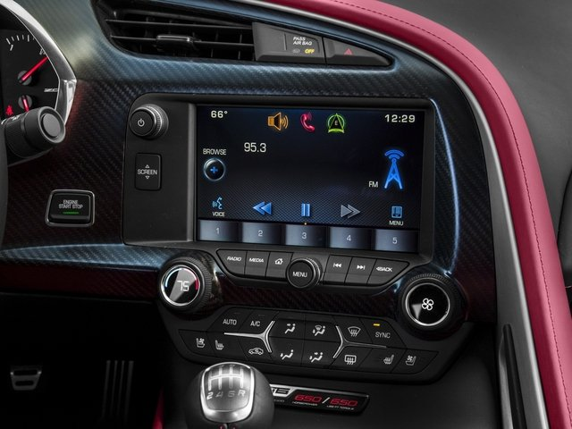 2016 Chevrolet Corvette Prices and Values Coupe 2D Z06 CR.7 V8 stereo system