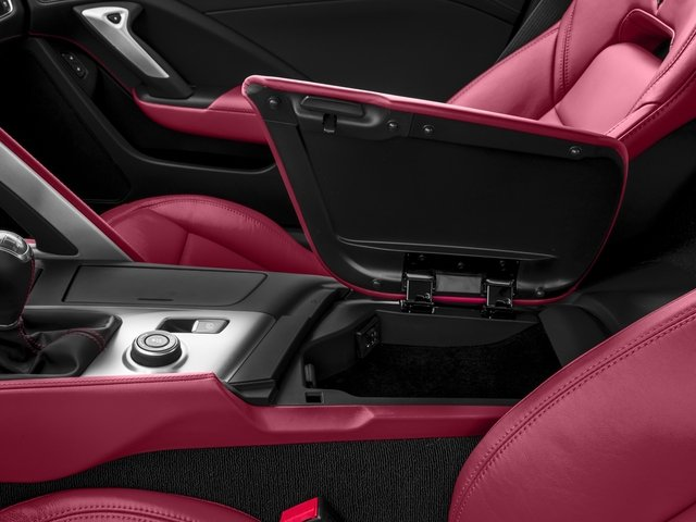 2016 Chevrolet Corvette Prices and Values Coupe 2D Z06 CR.7 V8 center storage console