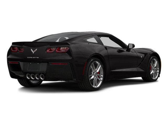 2016 Chevrolet Corvette Prices and Values Coupe 2D Z51 2LT V8 side rear view