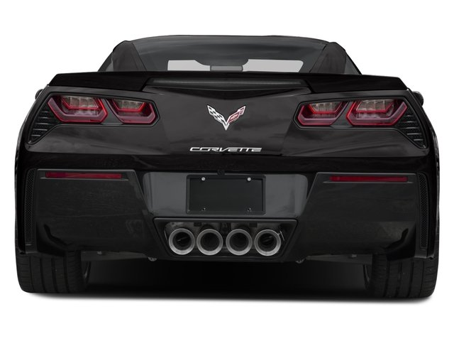 2016 Chevrolet Corvette Prices and Values Coupe 2D Z51 2LT V8 rear view