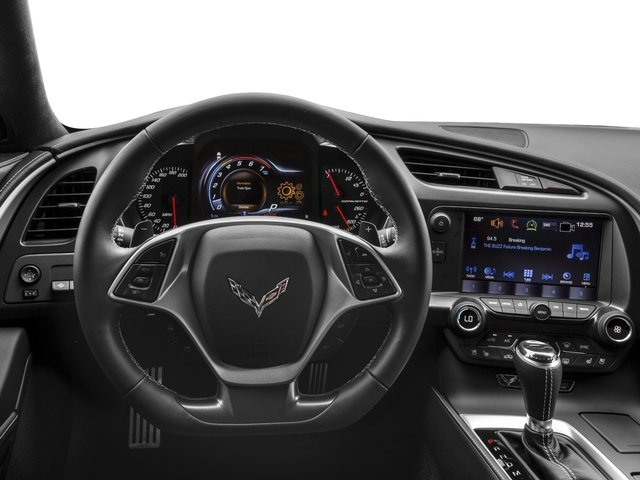 2016 Chevrolet Corvette Prices and Values Coupe 2D Z51 2LT V8 driver's dashboard