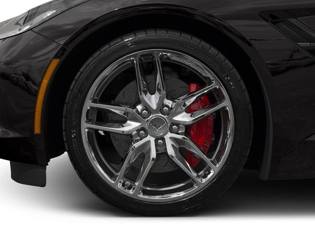 2016 Chevrolet Corvette Pictures Corvette Coupe 2D Z51 3LT V8 photos wheel