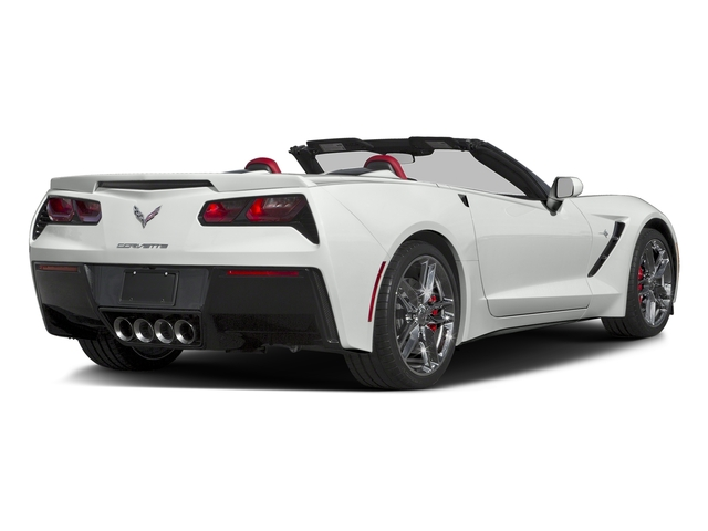 2016 Chevrolet Corvette Prices and Values Convertible 2D Z51 3LT V8 side rear view